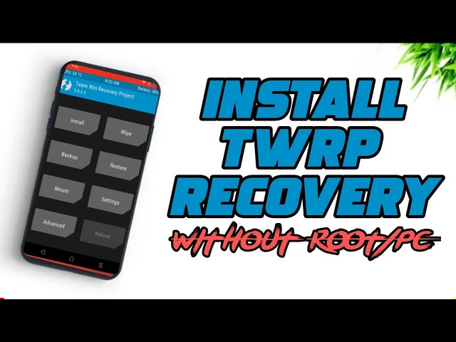 INSTALL TWRP RECOVERY WITHOUT ROOT AND PC || INSTALL TWRP NO ROOT || INSTALL TWRP NO PC || FaithCan