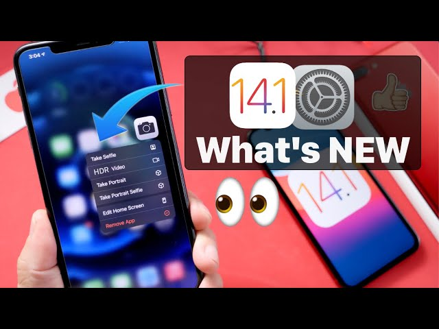 iOS 14.1 RELEASED – This is a BIG ONE!