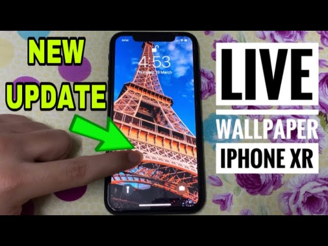 iPhone XR Live Wallpaper NEW UPDATE IS HERE (Set in 2 Steps)