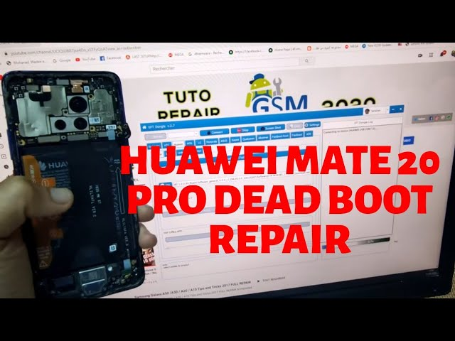Huawei Mate 20 Pro dead boot repair How To Solve (ALL HUAWEI REBRAND)Board software Unbrick Firmware