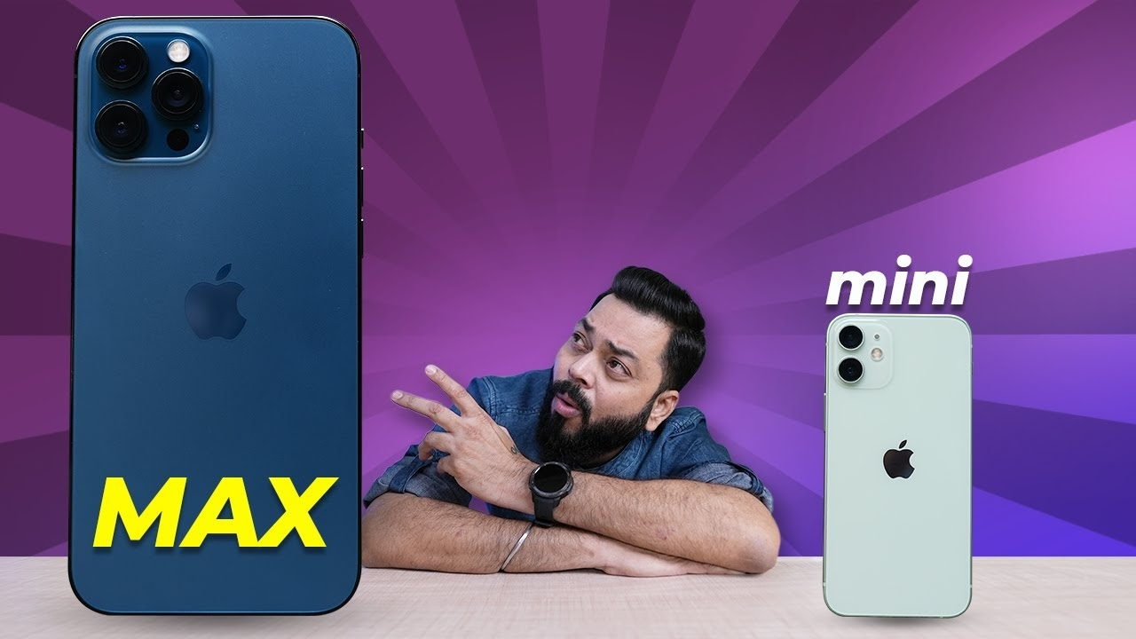 iPhone 12 mini & iPhone 12 Pro Max First Impressions & Quick Review ⚡Chota Packet, Bada Dhamaka #android