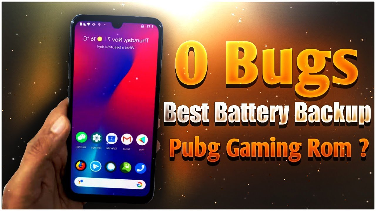 Best Rom For Redmi Note 7 Pro || No Bugs,No Heating,Best Battery Backup || Pubg Gaming Rom ?