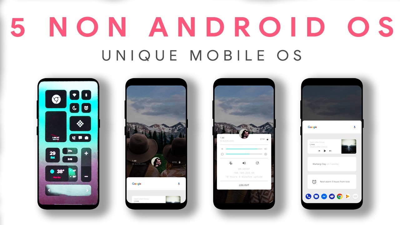 5 Best Non Android OS – Best for Privacy