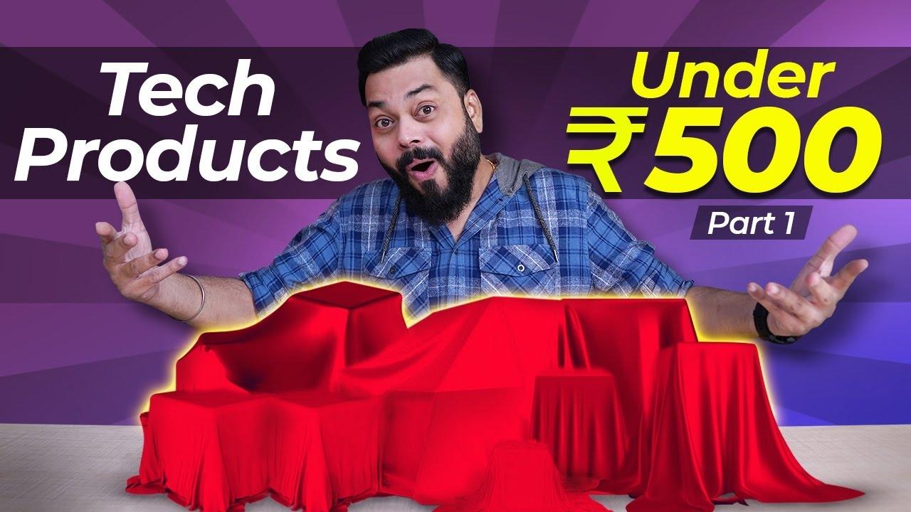 Top 5 Best Tech Gadgets Under Rs.500 | Part 01 ⚡⚡⚡ November 2020 #android