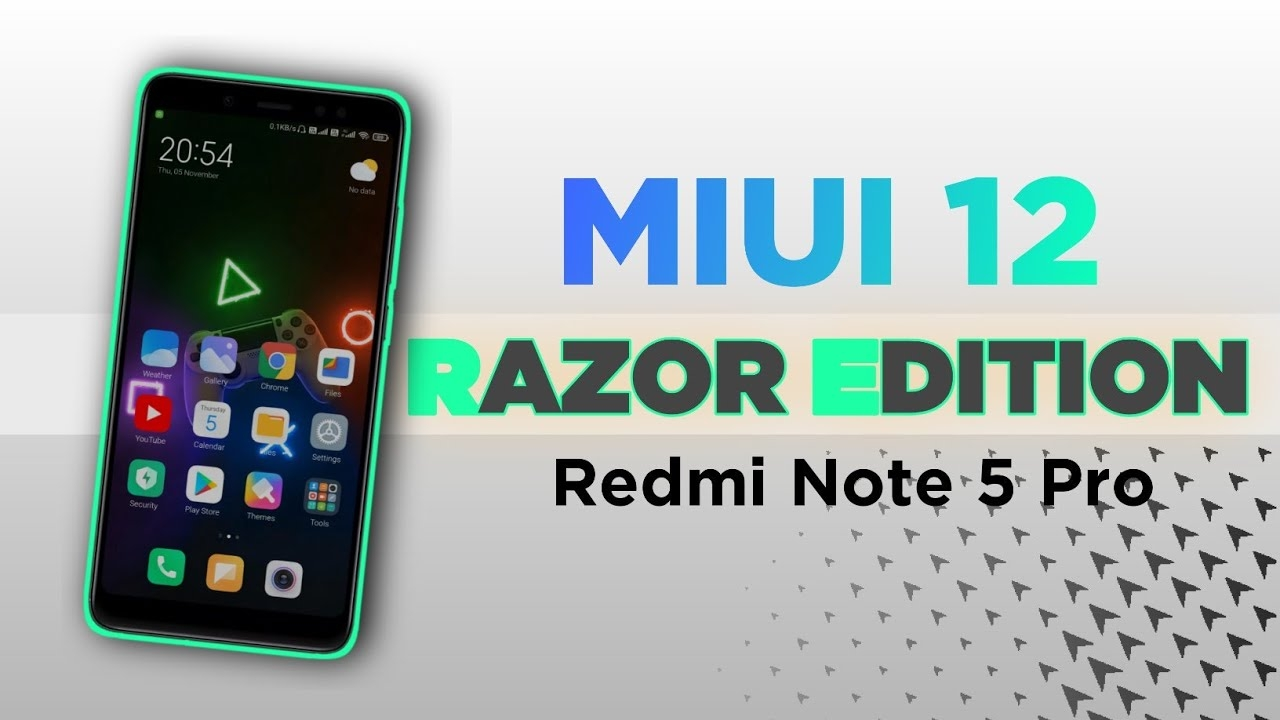 Try Latest Miui Razor Edition Rom With this Kernel On Redmi Note 5 Pro For Gaming ⚡⚡⚡ #lineage #os #lineageos