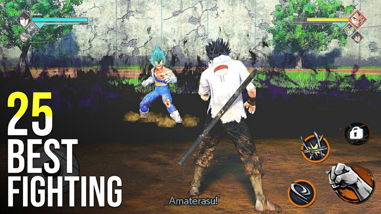 Top 25 Best Fighting Games For Android [FREE]