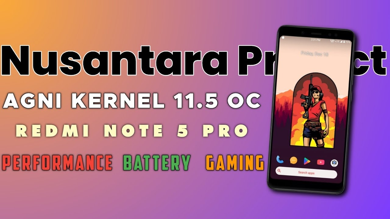 Nusantara Project Eol + Agni Kernel 11.5 Stable @2.2 Ghz On Redmi Note 5 Pro | Insane 🔥
