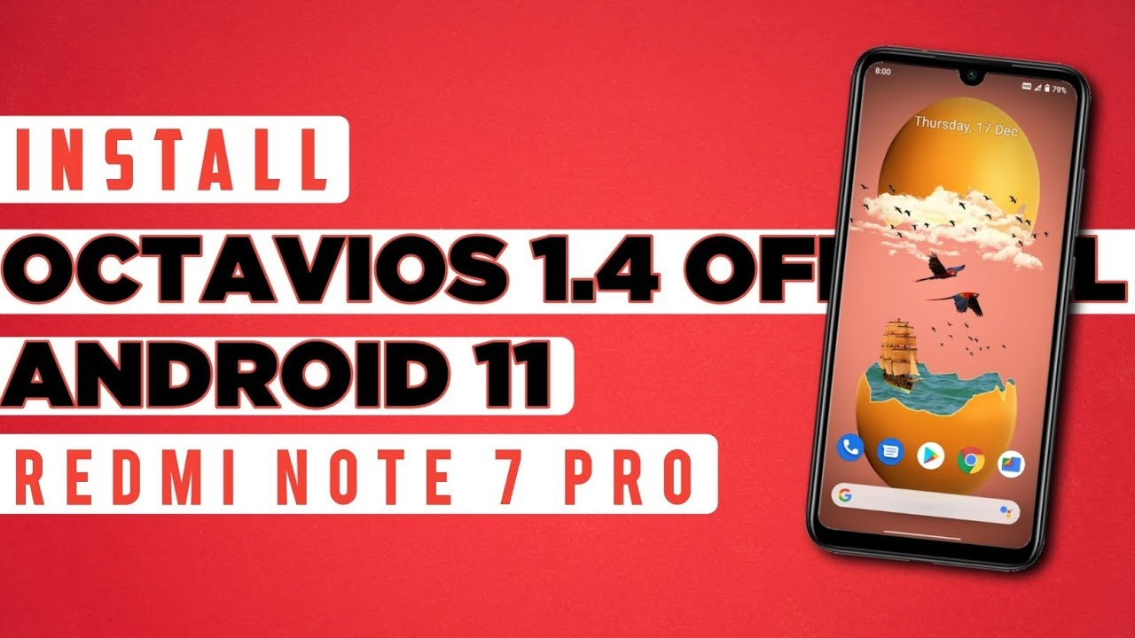 Super Smooth Rom With Cool Android 11 Ui For Redmi Note 7 Pro Ft. Octavios 1.4 | It's So Smooth😍
