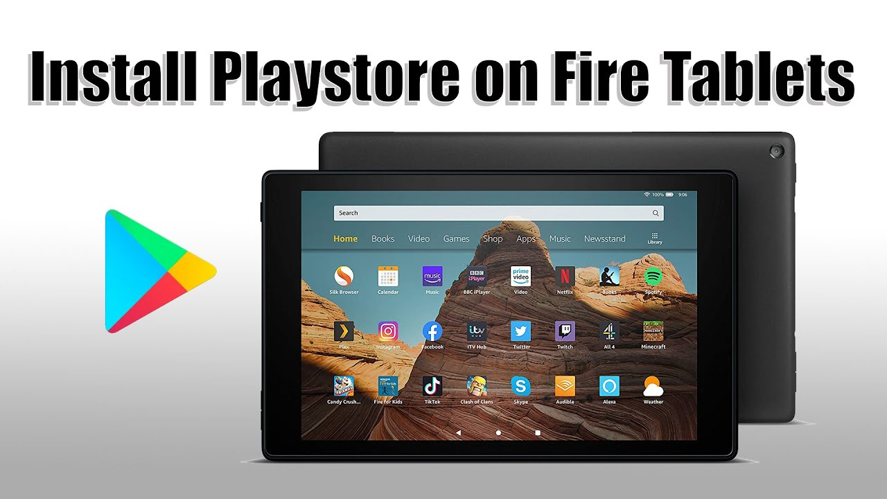 Install Google Playstore On All Amazon Fire Tablets (quick/easy/2020/NO PC)