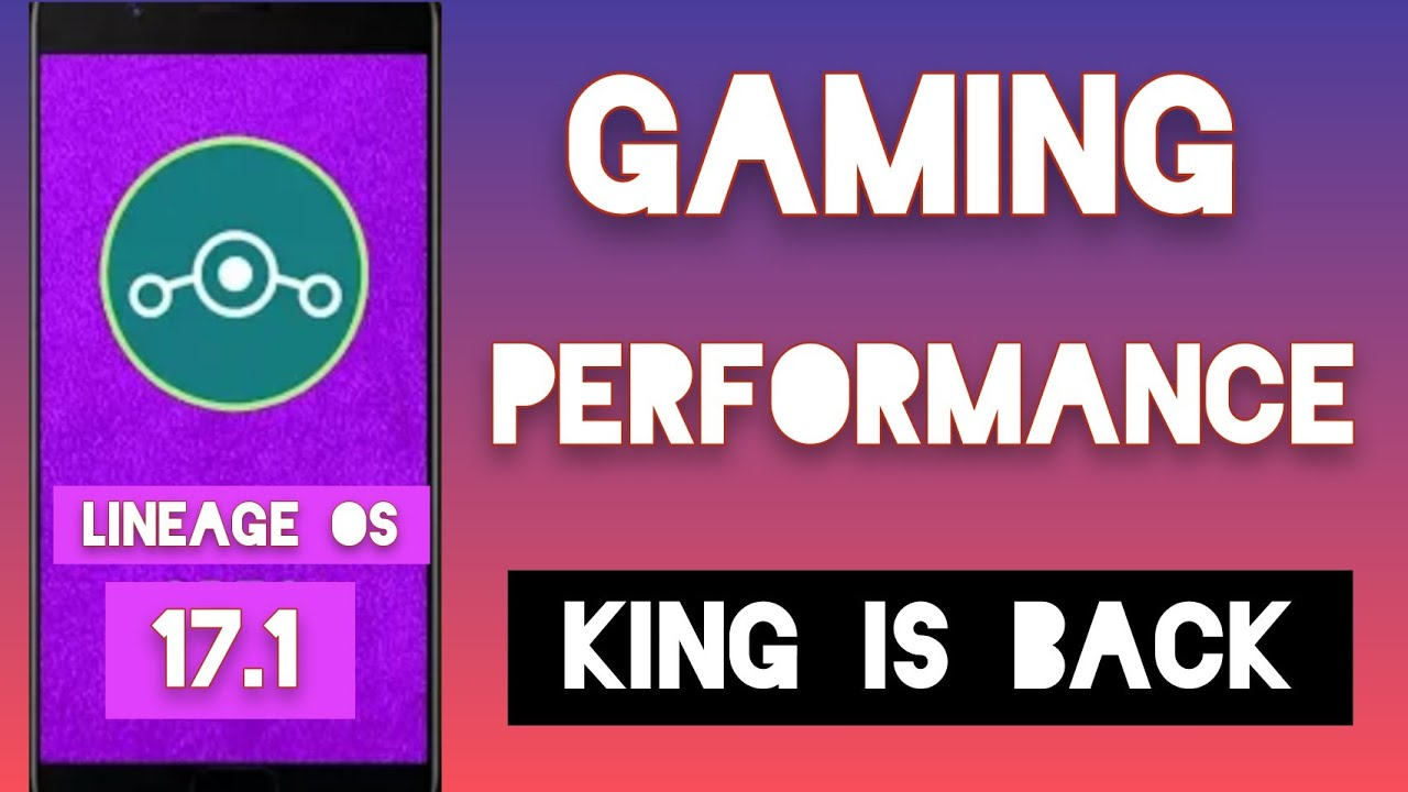 Lineage OS 17.1 Gsi ROM | gaming performance test | all Realme phones | better than corvus ?