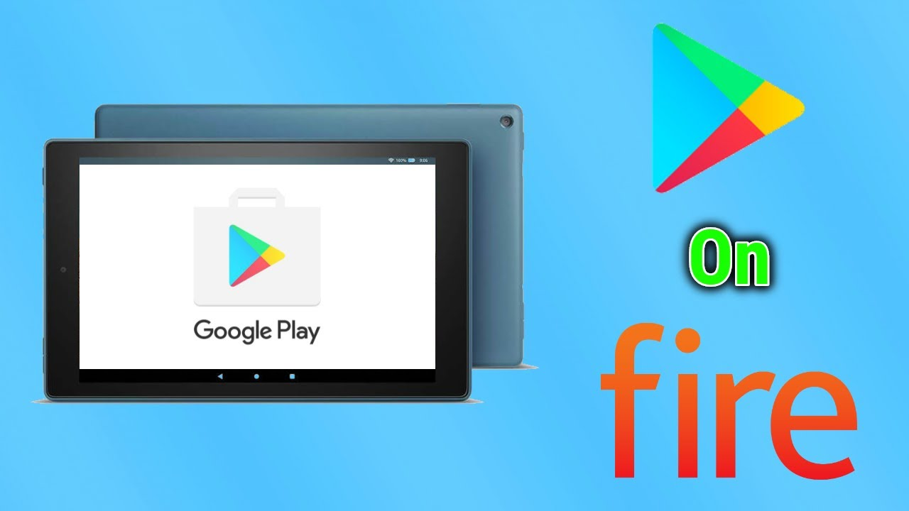 Install Google Play Store on the New Fire HD 10   Fire OS 7