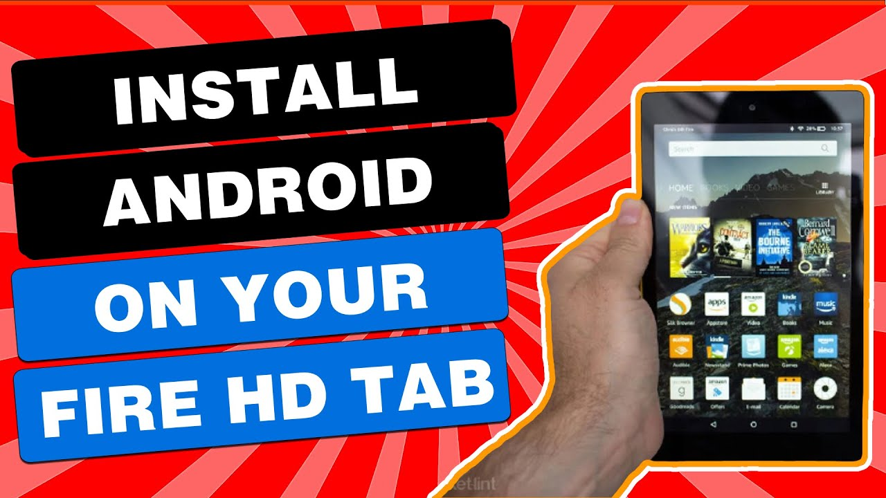How To Install Stock Android On Fire Tablet IN 11 MINUTES