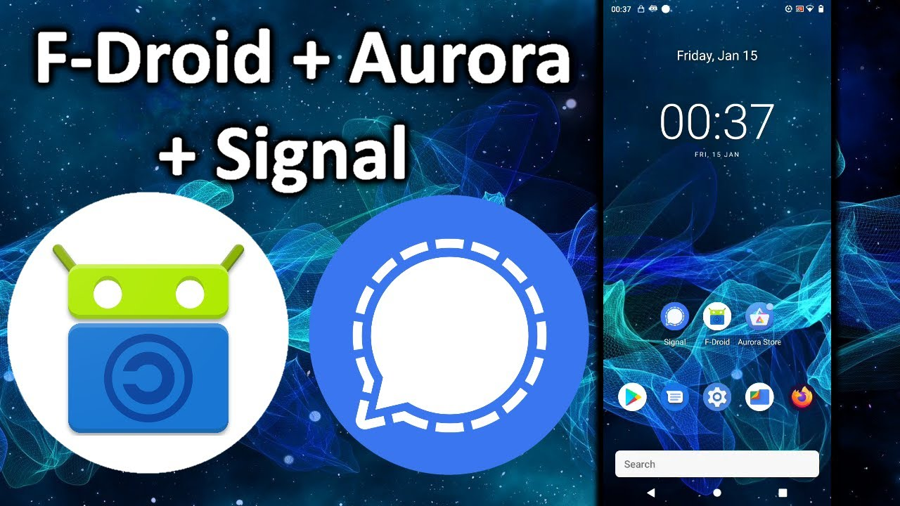 3 Ways to Install Signal on Android (F-Droid + Aurora, .apk, GPlay) | Moving from Whatsapp