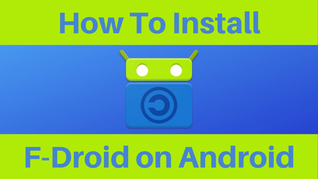 How To Install F-Droid On Android