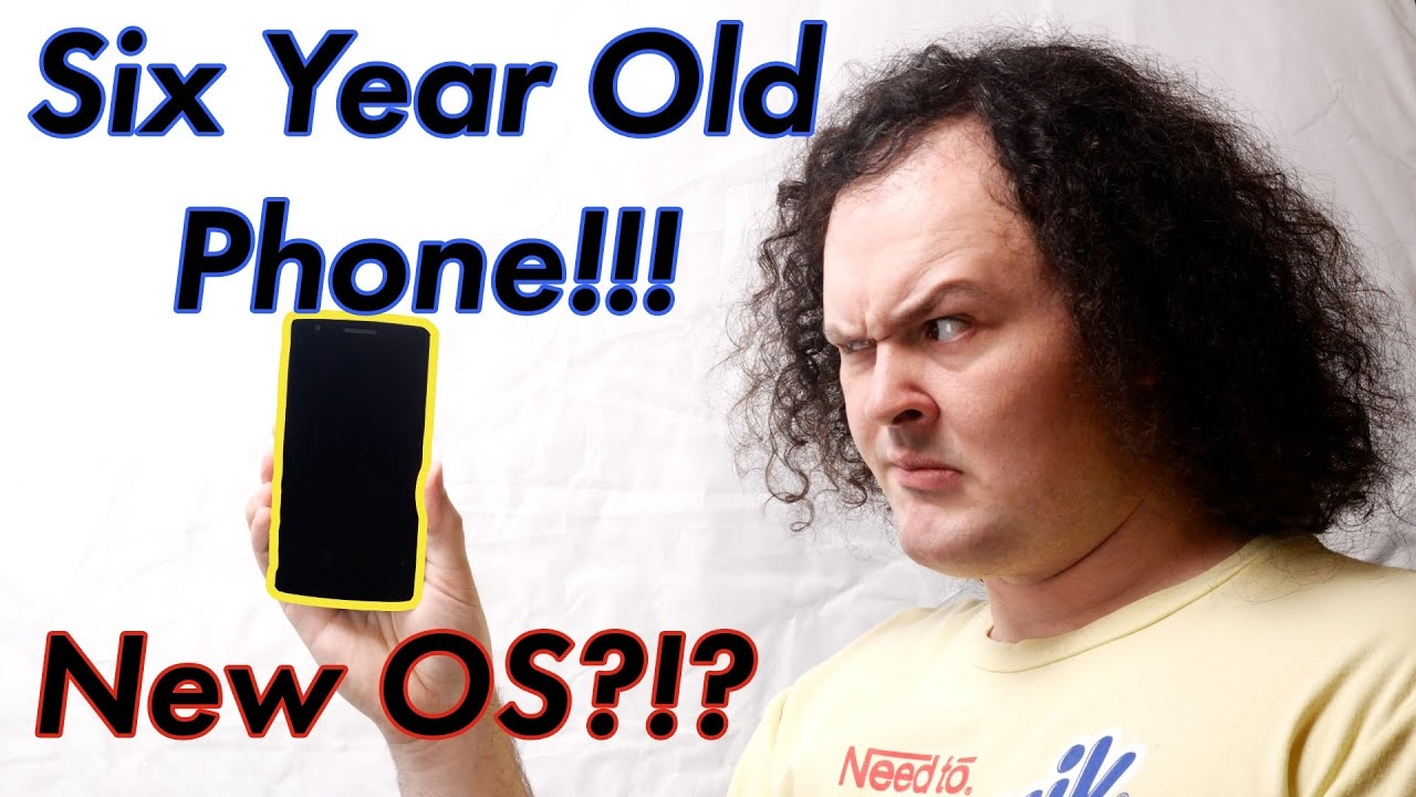 Android 10 on a six year old phone?!? LineageOS 17.1 on the Oneplus One.