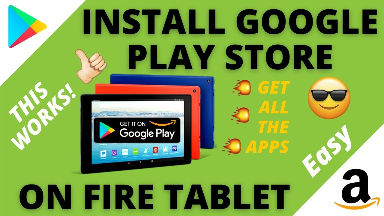 Download Google Play Store on Amazon Fire Tablet (2021) THIS WORKS!