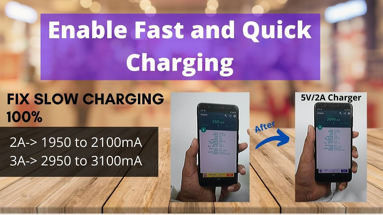 [FIX] Slow Charging Of Your Android Mobile  | Enable Fast Quick Battery Charging on any Android