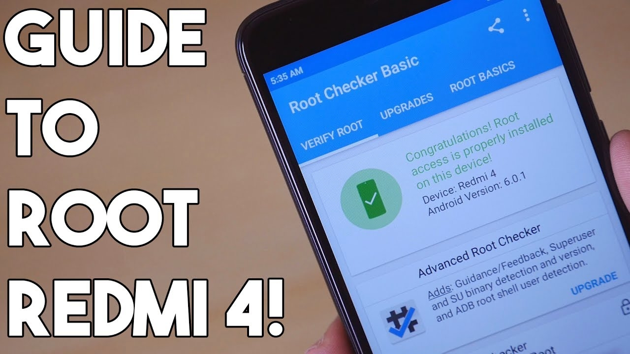 How to Root Redmi 4 Guide- Detailed and easy to follow!