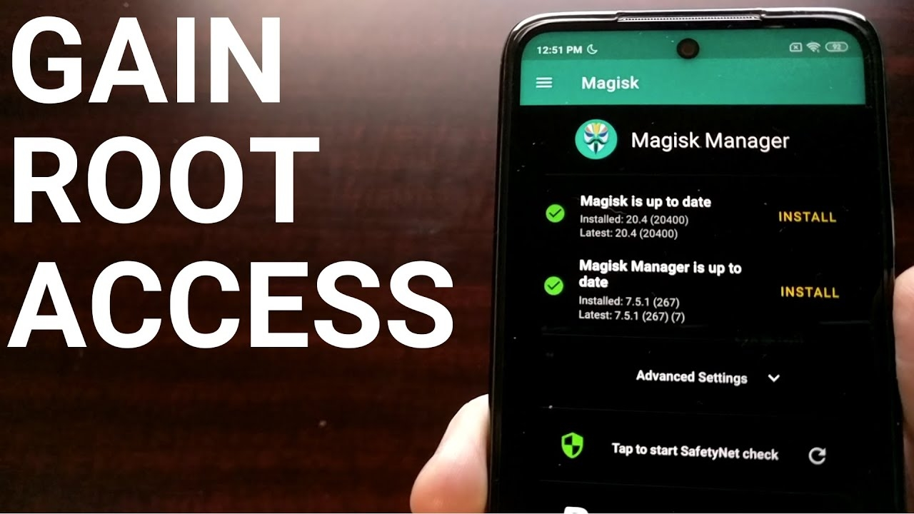 how to root the redmi note 9s & 9 pro with magisk