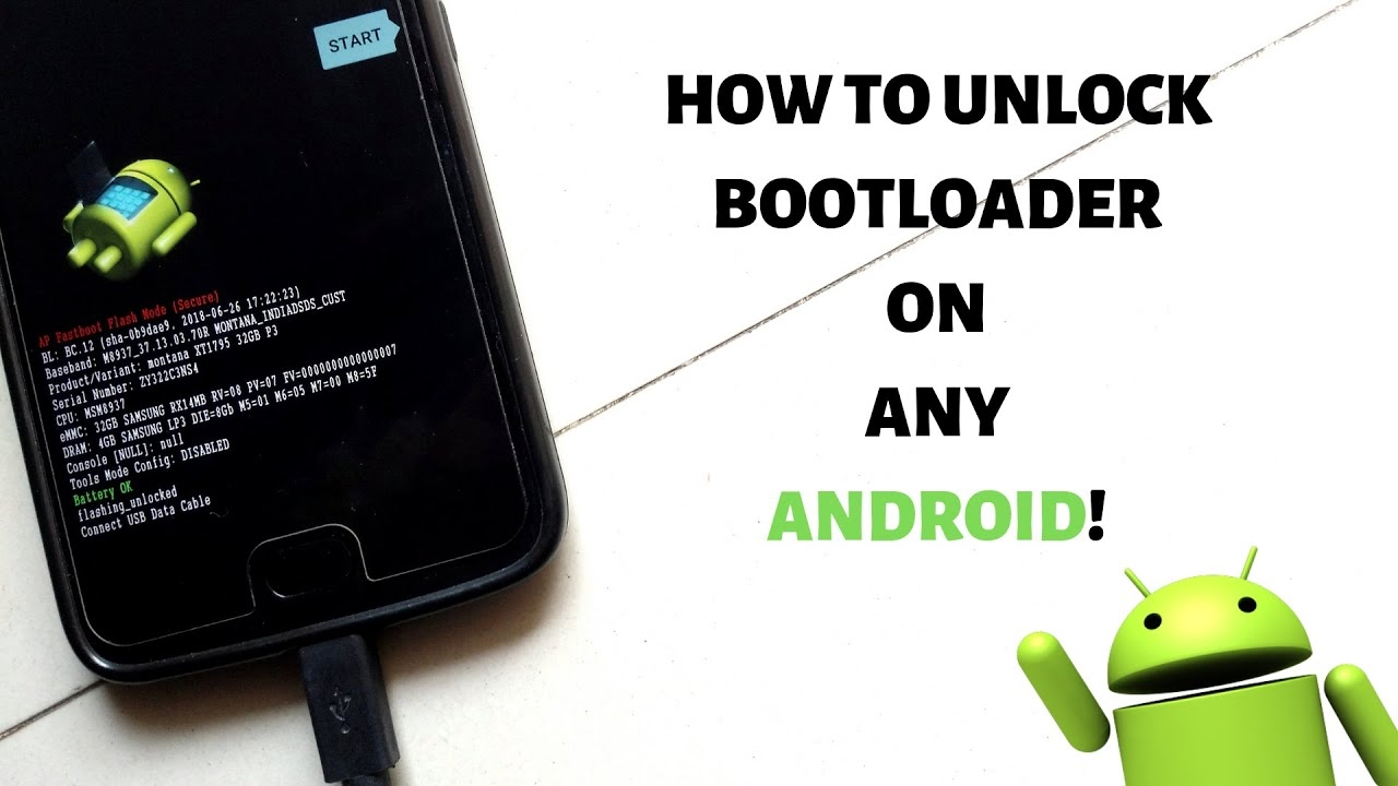 How To Unlock Bootloader On Any Android | OEM Bootloader Unlock | Fastboot