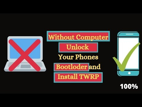 How To Unlock Bootloader On Any Phone And Install TWRP Recovery Without Computer 2021 |  no root