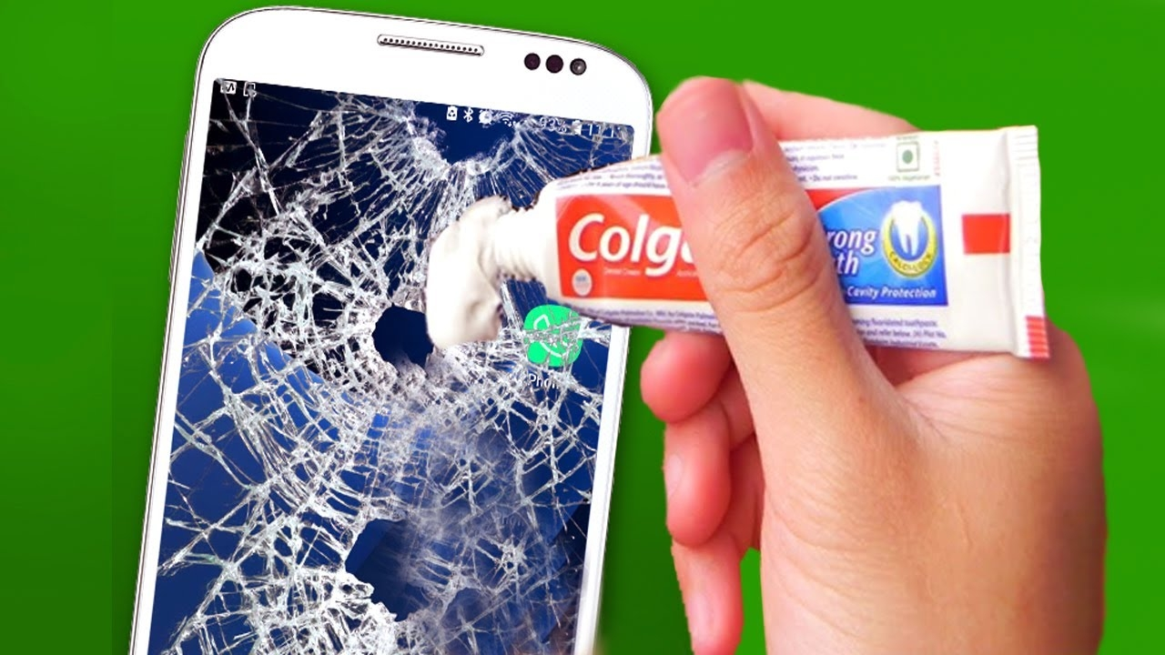 Repair A Phone Screen (GLASS ONLY REPAIR ATTEMPT) Fix a Cracked Phone Screen Fast at home