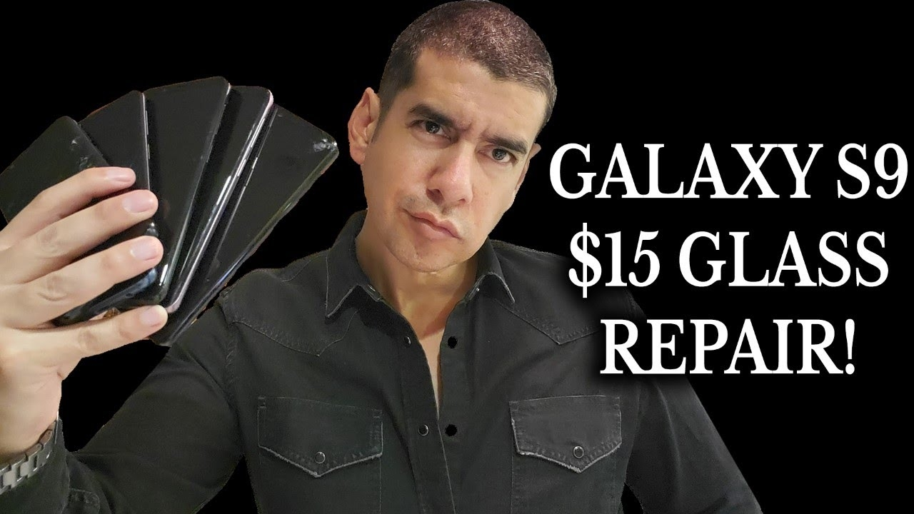 Samsung Galaxy S9 Screen Replacement $15 *Glass Only* | How to Repair Cracked Phone