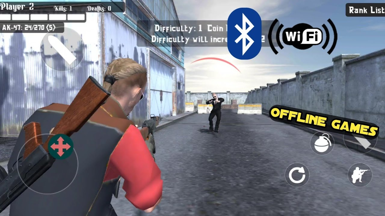 Top 10 Local Multiplayer Games Android HD OFFLINE