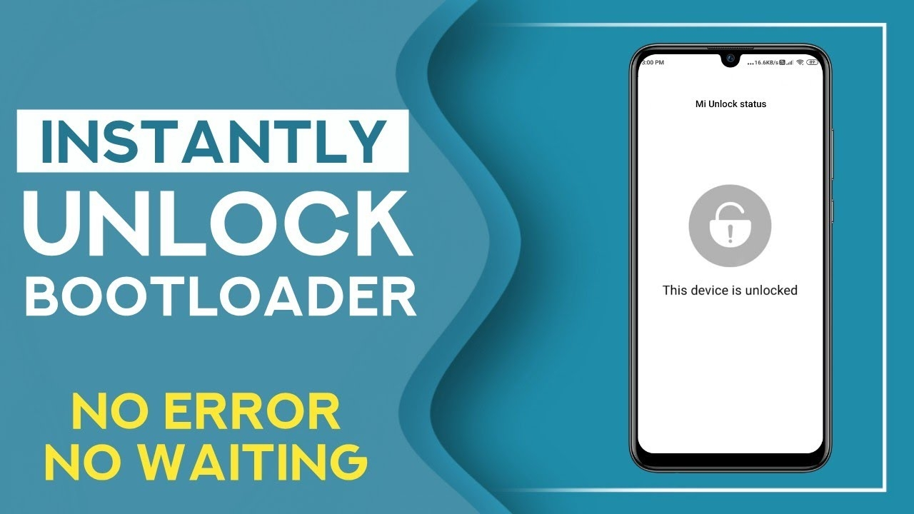 Unlock Bootloader in any Xiaomi, Redmi or Poco Phone | Instant, No Waiting Time