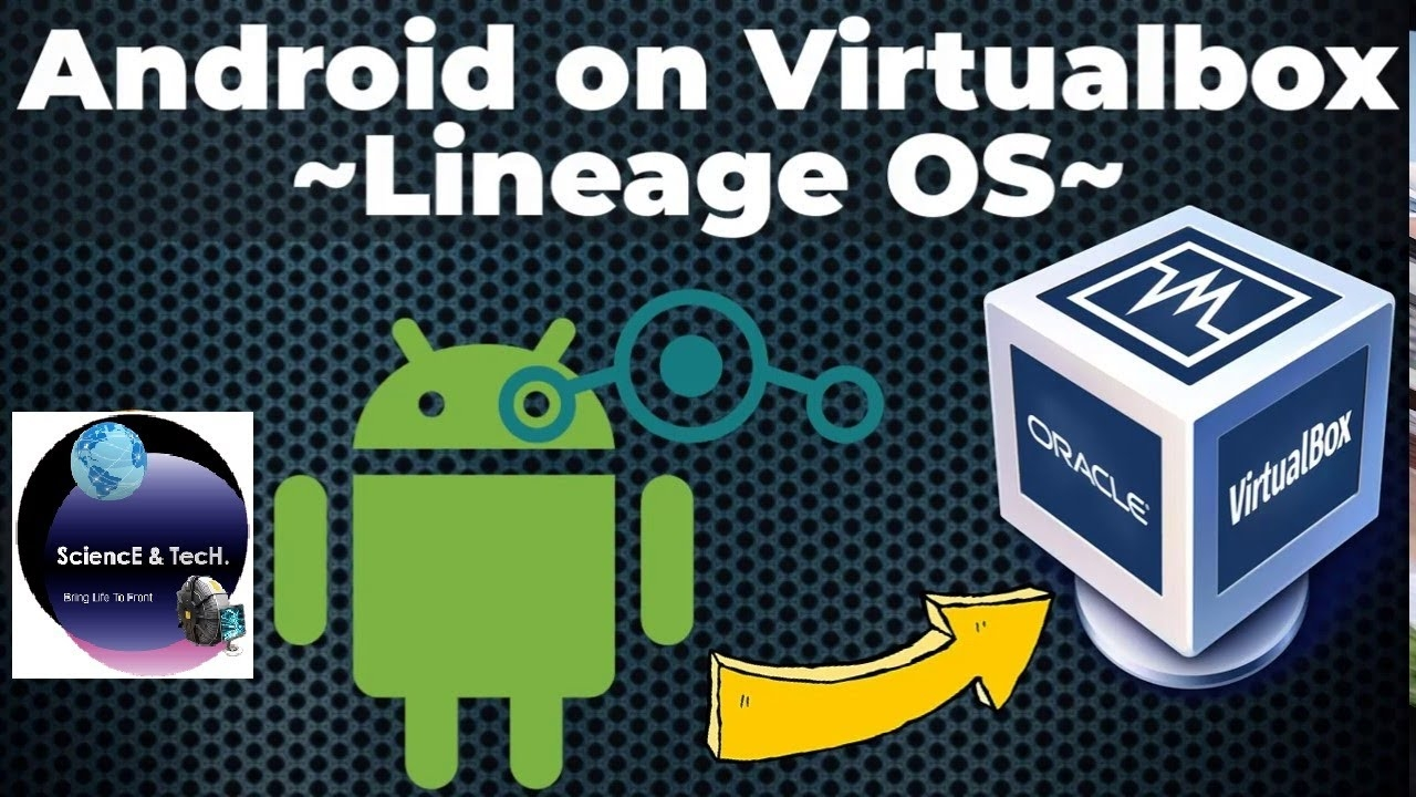 Android x86 install on virtualbox 2021 in Hindi    Lineage OS 14.1