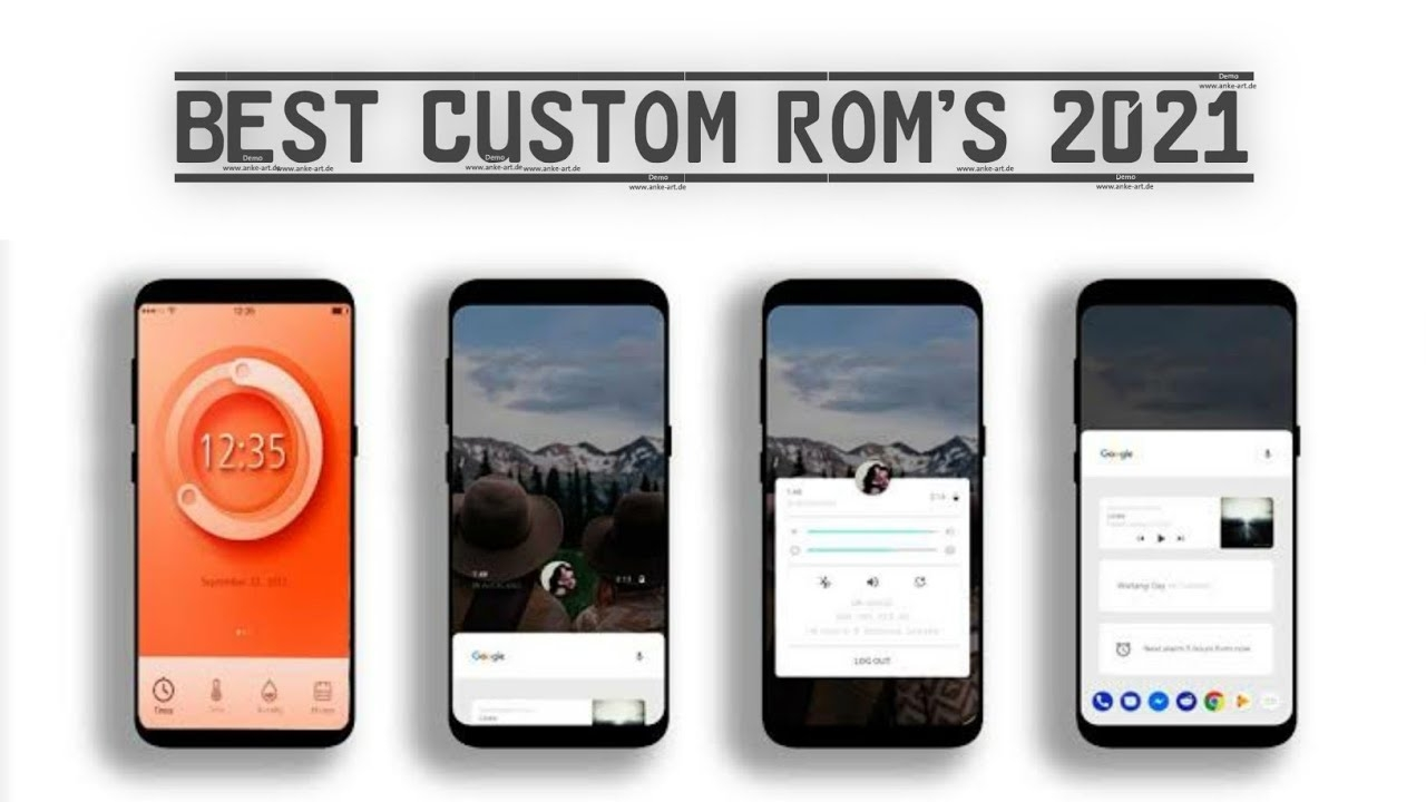Best Custom ROM's in 2021🔥- Top 5 ROM's for Android in 2021