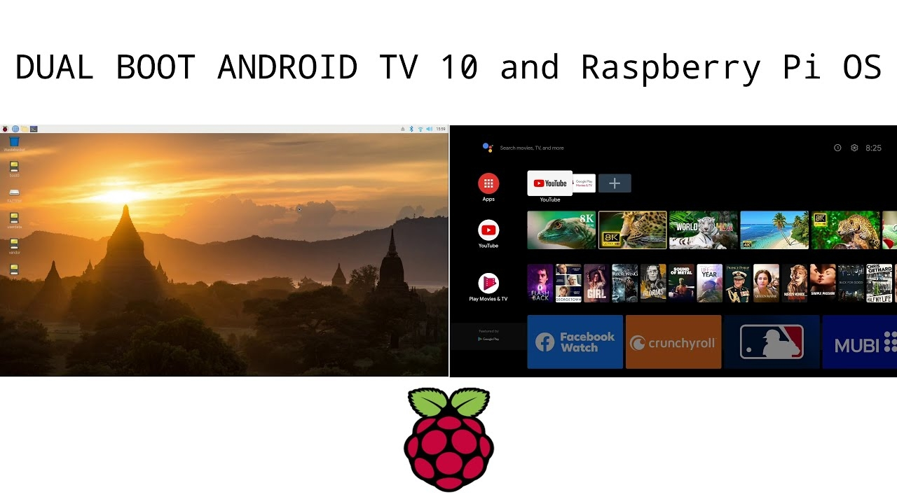 How to Dual Boot Android TV 10 Lineage OS 17.1 and Raspberry Pi OS on Raspberry Pi 4 | Pi 400