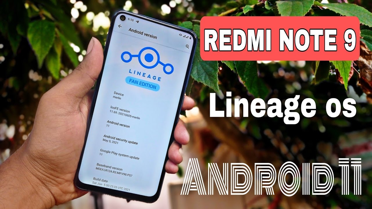 How to install lineage os on Redmi note 9 ( fan edition )