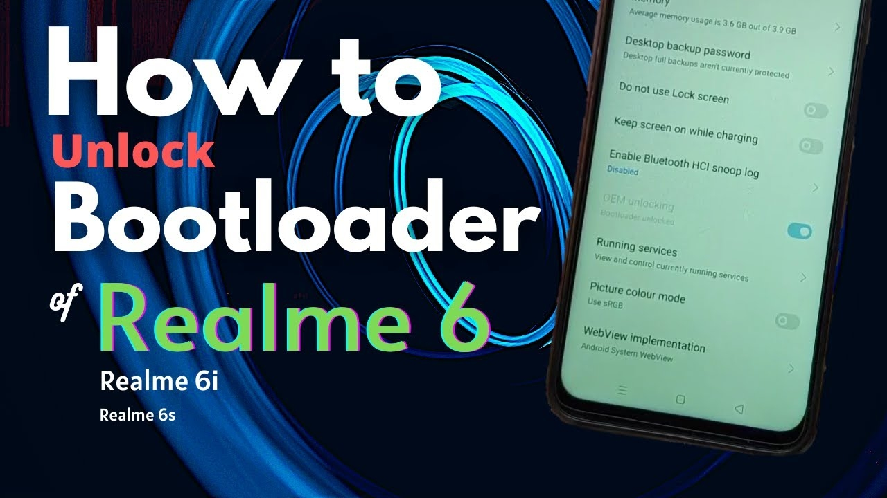How To Unlock Bootloader Of Realme 6/6i/6s [] Realme 6 Bootloader Unlock [] Without Error