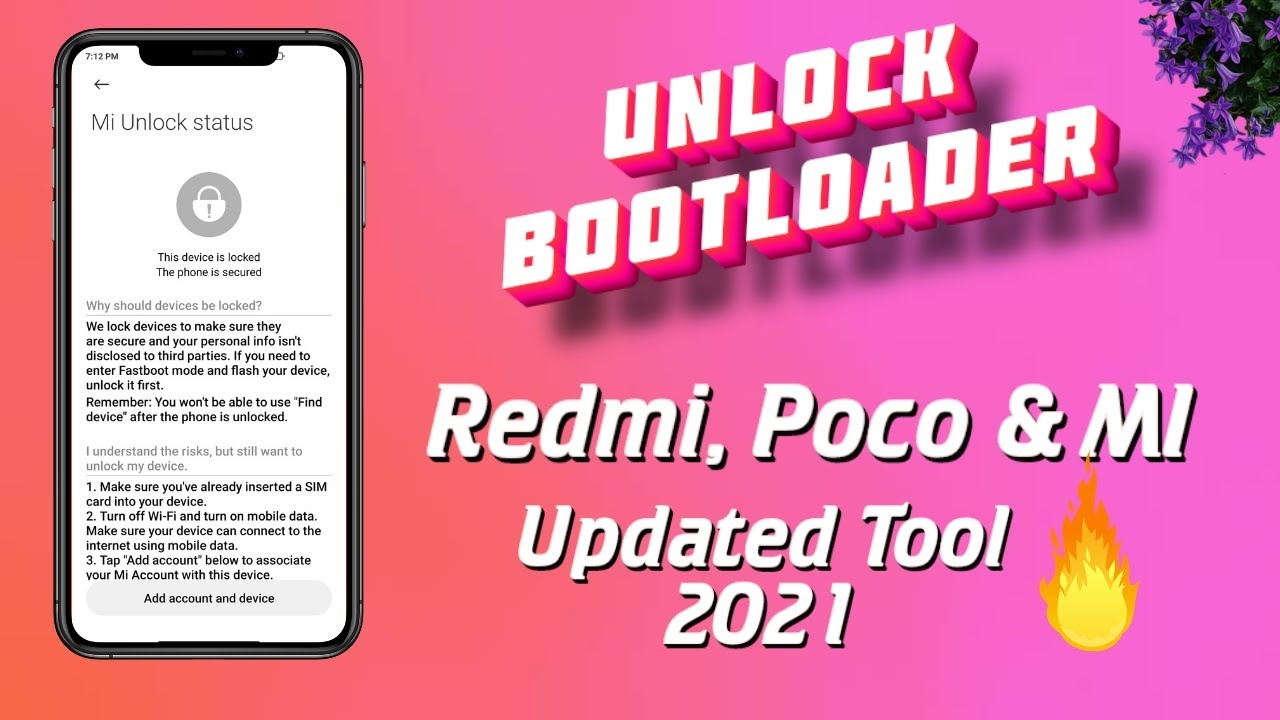Unlock Bootloader Any Xiaomi Devices || 🔥 New Tool 2021