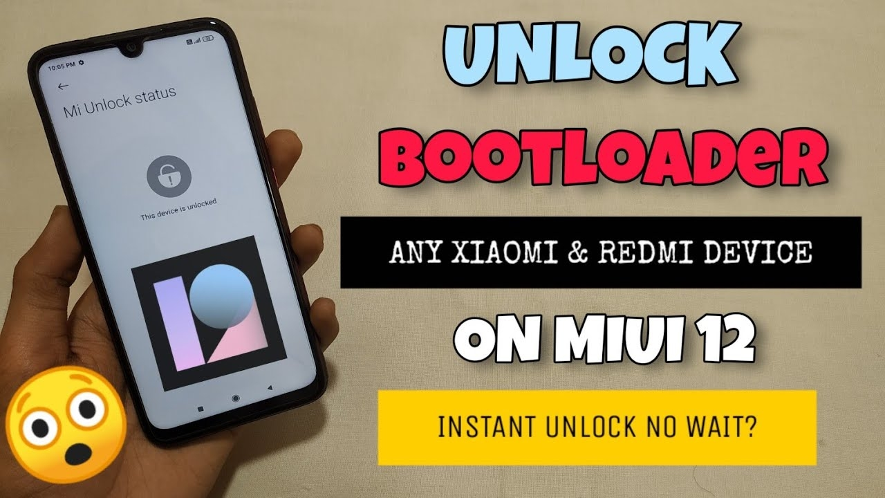 Unlocked Bootloader Any Redmi & Xiaomi Device | No Waiting Time | MIUI 12