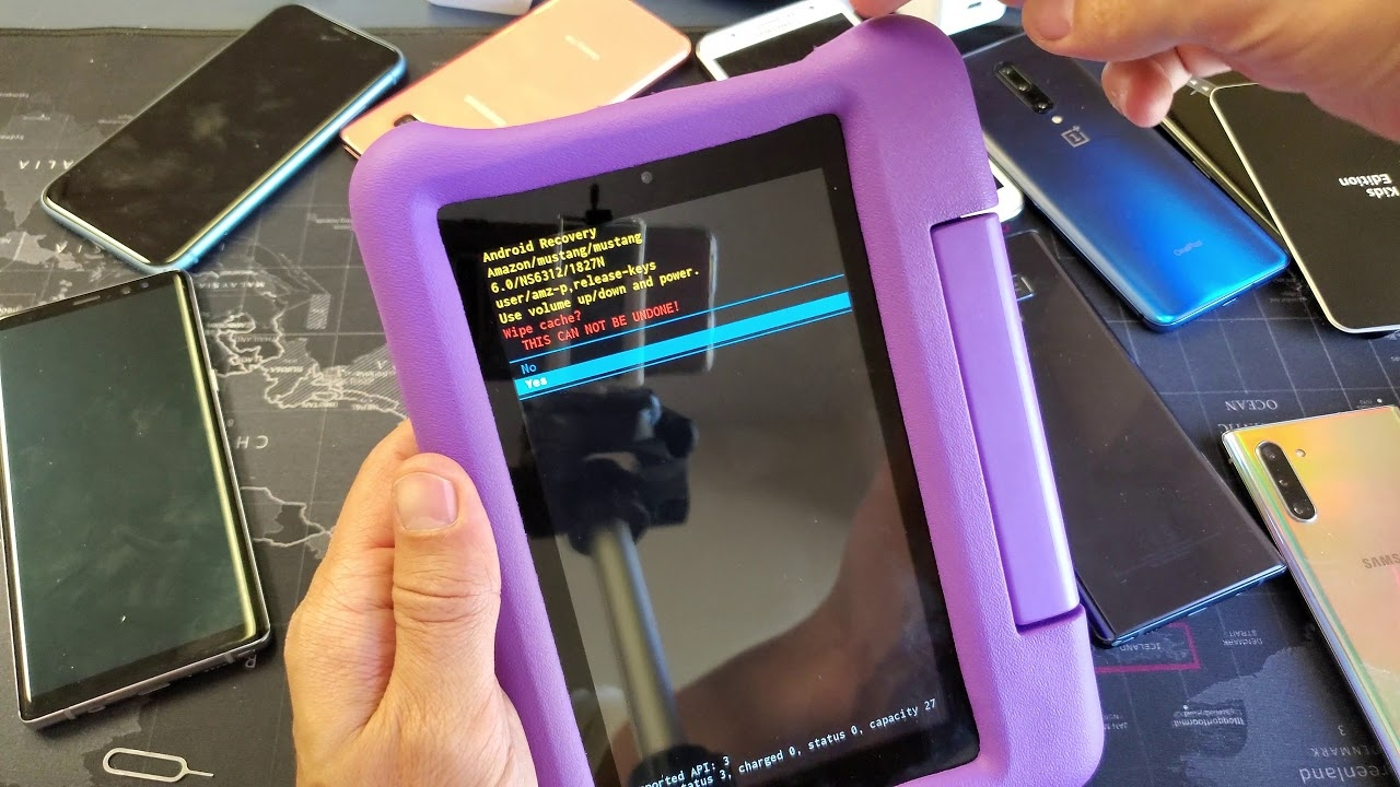 Amazon Fire 7 Kids Edition Tablet: How to Wipe Cache Partition (Great for Laggy Tablets)