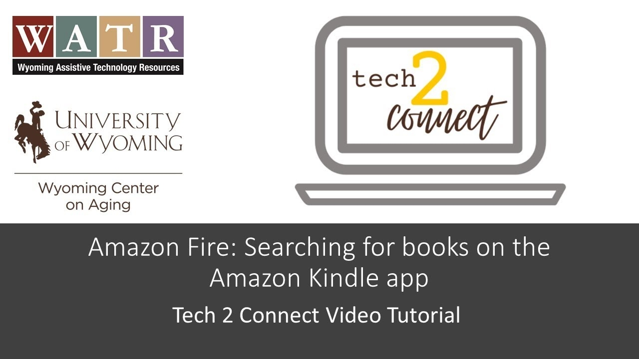 Amazon Fire: Searching for books on the Amazon Kindle app