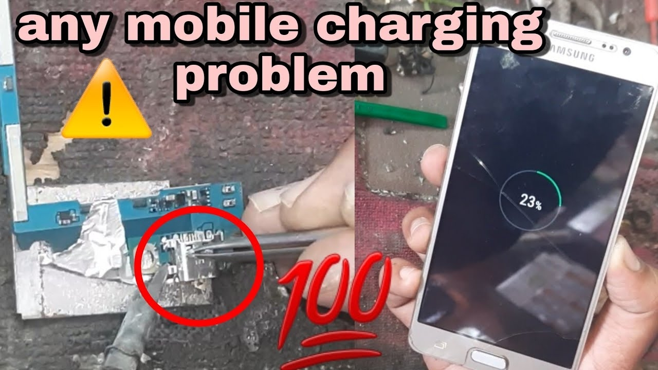 android charging problem solution/any mobile charging problem and solution in hindi |charging port