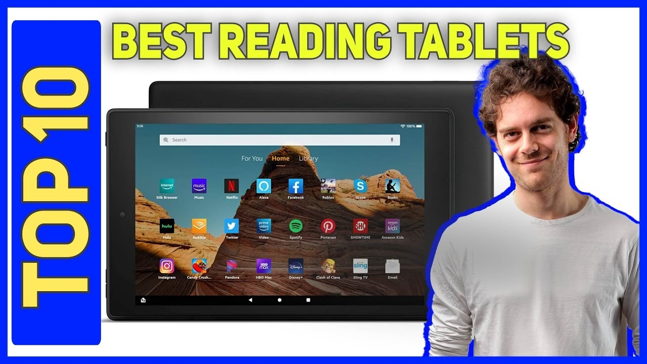 Best Reading Tablets in 2021 - Top 10 Best Reading Tablets