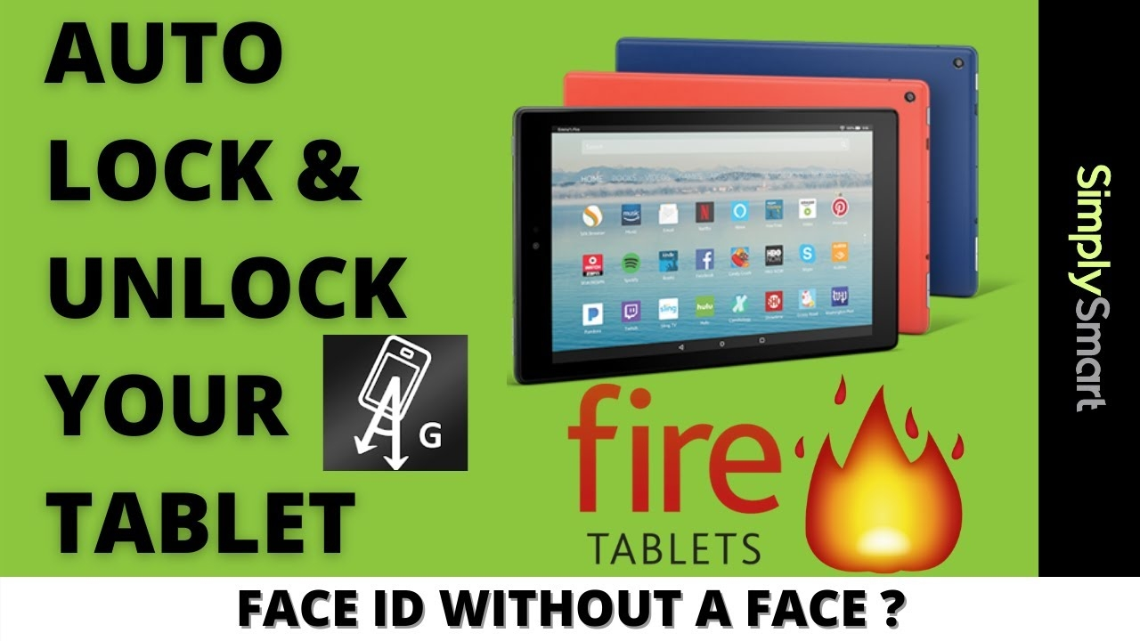 Bypass Amazon Fire Tablet Lock Screen | Auto Unlock with Gravity (2021)