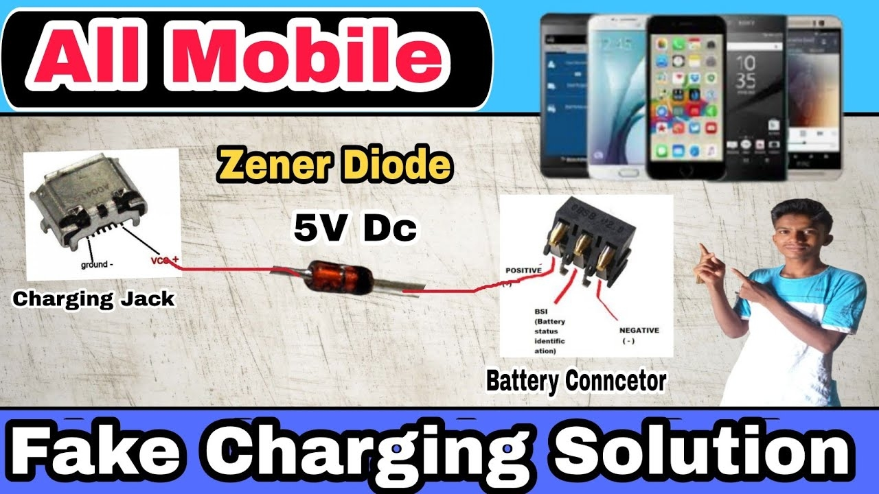 Fake Charging Slow Charging Solution   All Mobile Charging Fake Solution  
