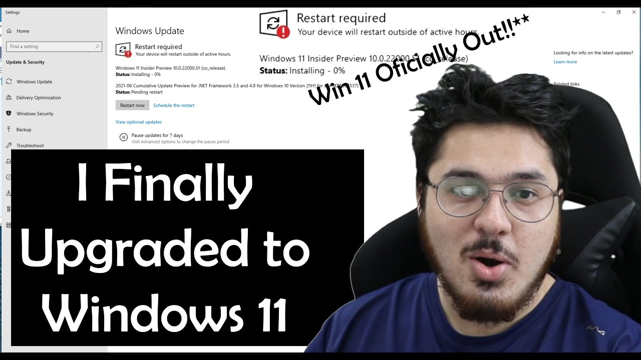 First Ever Official Version of Windows 11 is Here! 🔥🔥