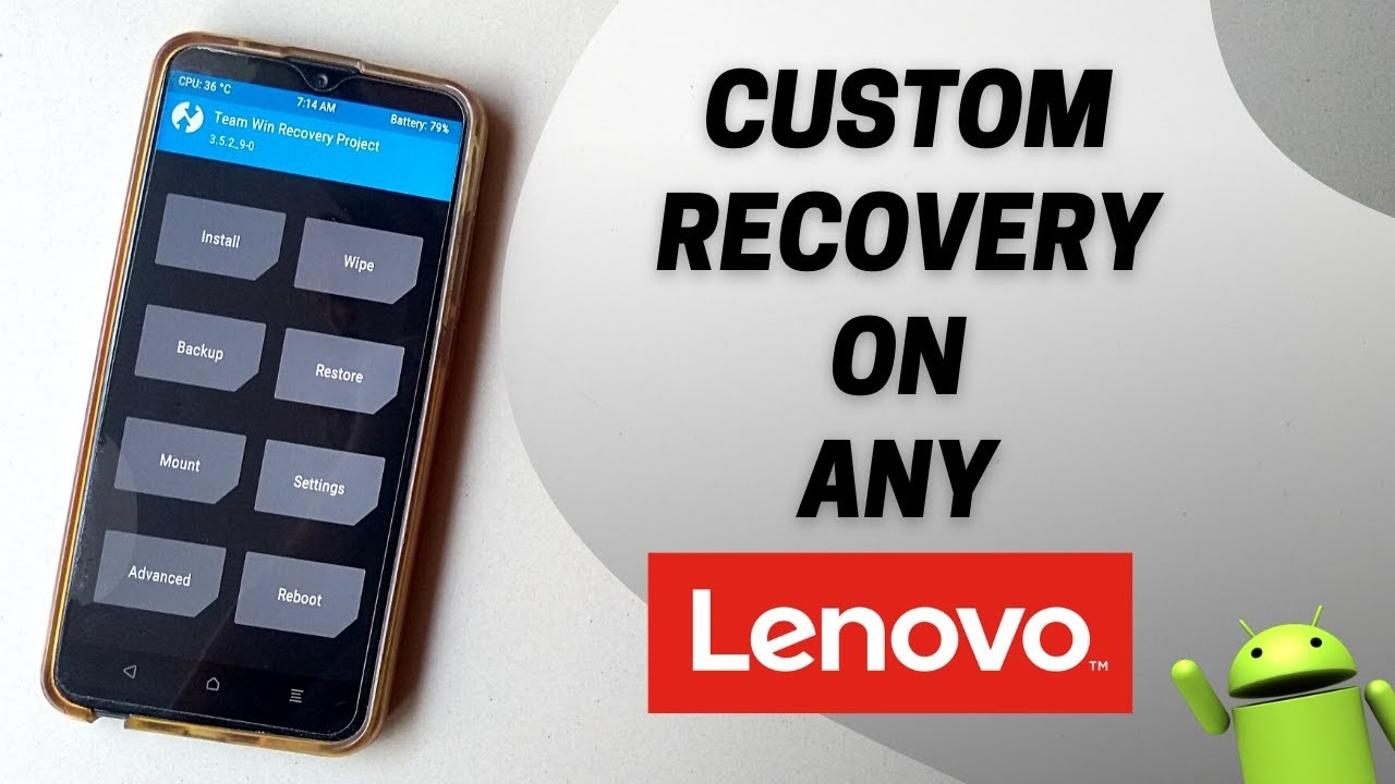 How To Flash Custom Recovery On Any Lenovo Phone | Flash TWRP Recovery On Lenovo | NO ROOT REQUIRED