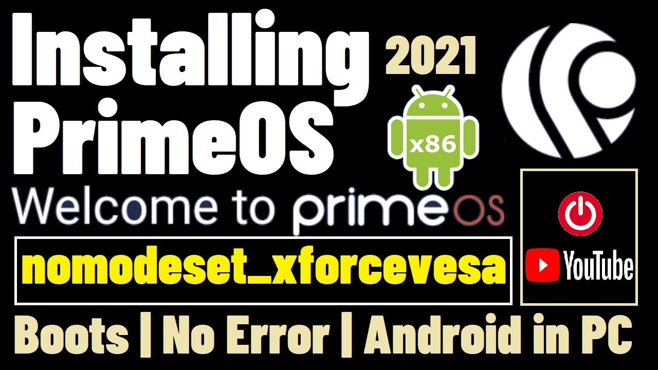How to Install Android x86 on PC | PrimeOS VMware | PrimeOS Android X86 | PrimeOS VirtualBox Install