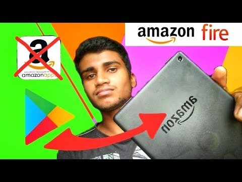 How to install Google play store in Amazon Fire tablets and devices