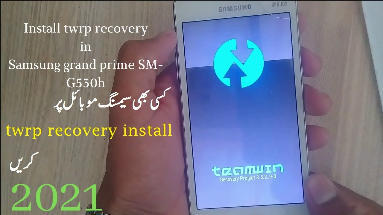 how to install twrp custom recovery on Samsung grand prime SM-g530h twrp recover instal krne k trika