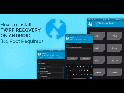 How To install Twrp Recovery Without PC   www.allmobilefiles.com