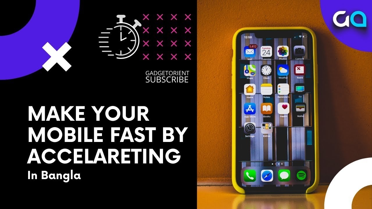 How To Make Mobile Faster By Accelerating    Bangla Tech Tutorial