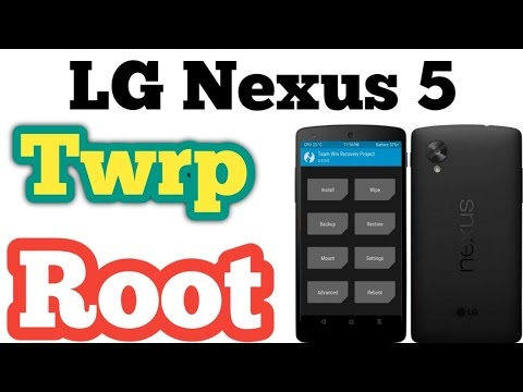 How to Root Nexus 5 TWRP recovery file 6.0.1 d821magisk root